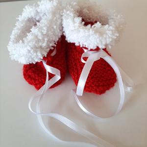 Κόκκινα-Άσπρα Παπουτσάκια